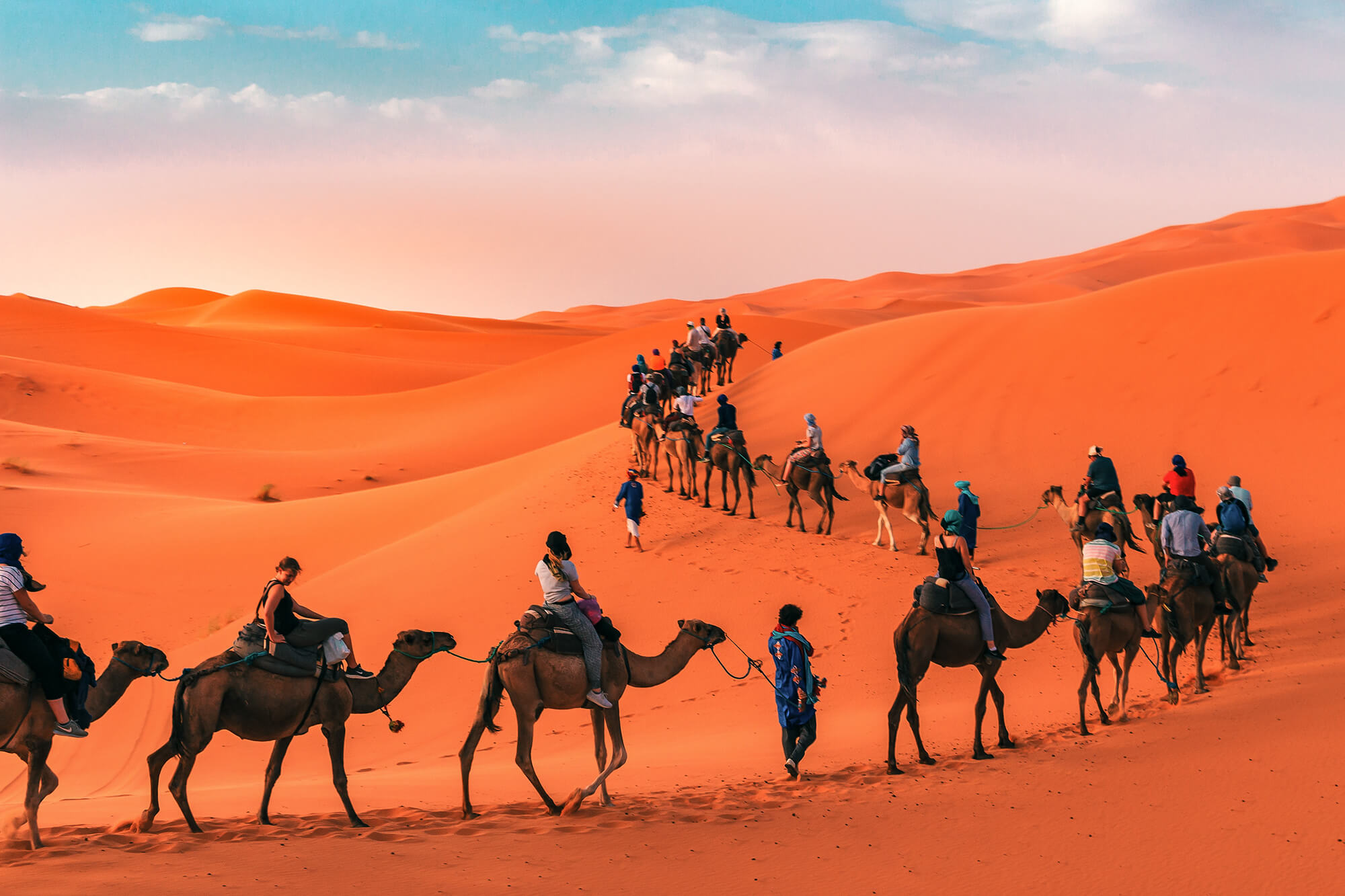 Sahara Desert Tour - Top Ten Things To Do in Morocco - Camel Tour