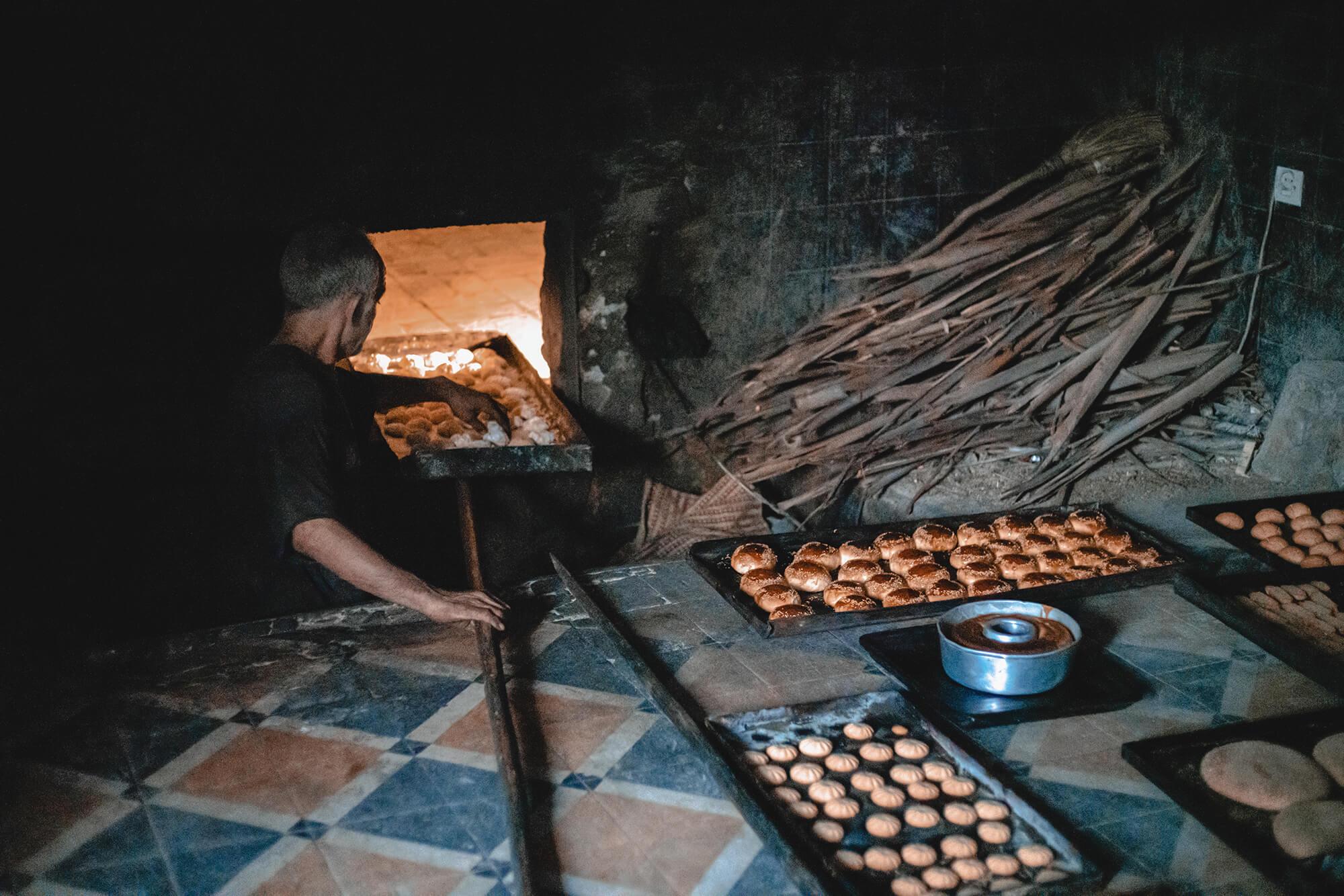 Sahara Desert Tour - Cuisine of Morocco - Breads