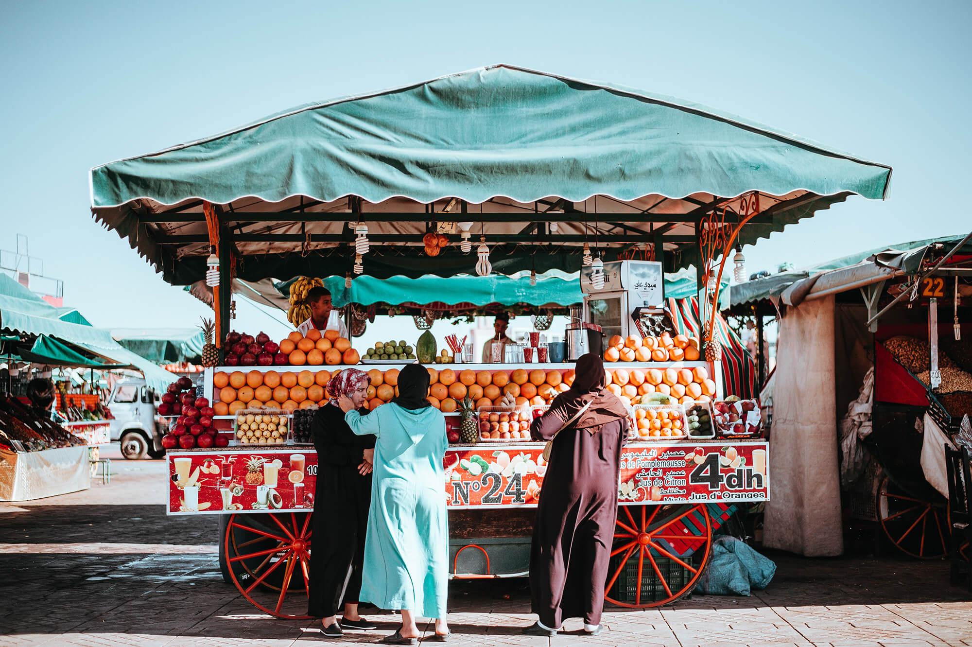 Sahara Desert Tour - Cuisine of Morocco - Street Food