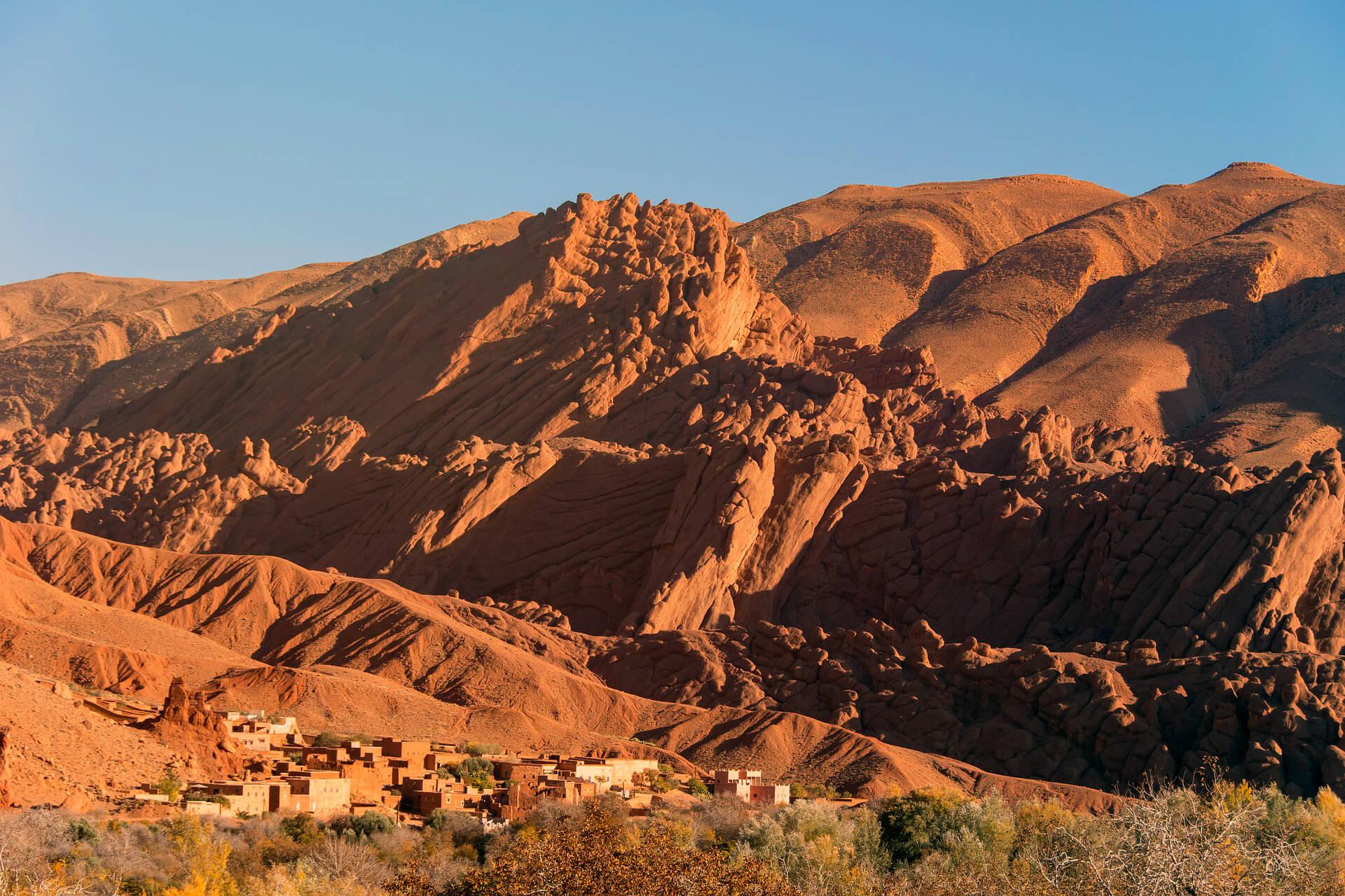 Sahara Desert Tour - Trekking Around Morocco - High Atlas