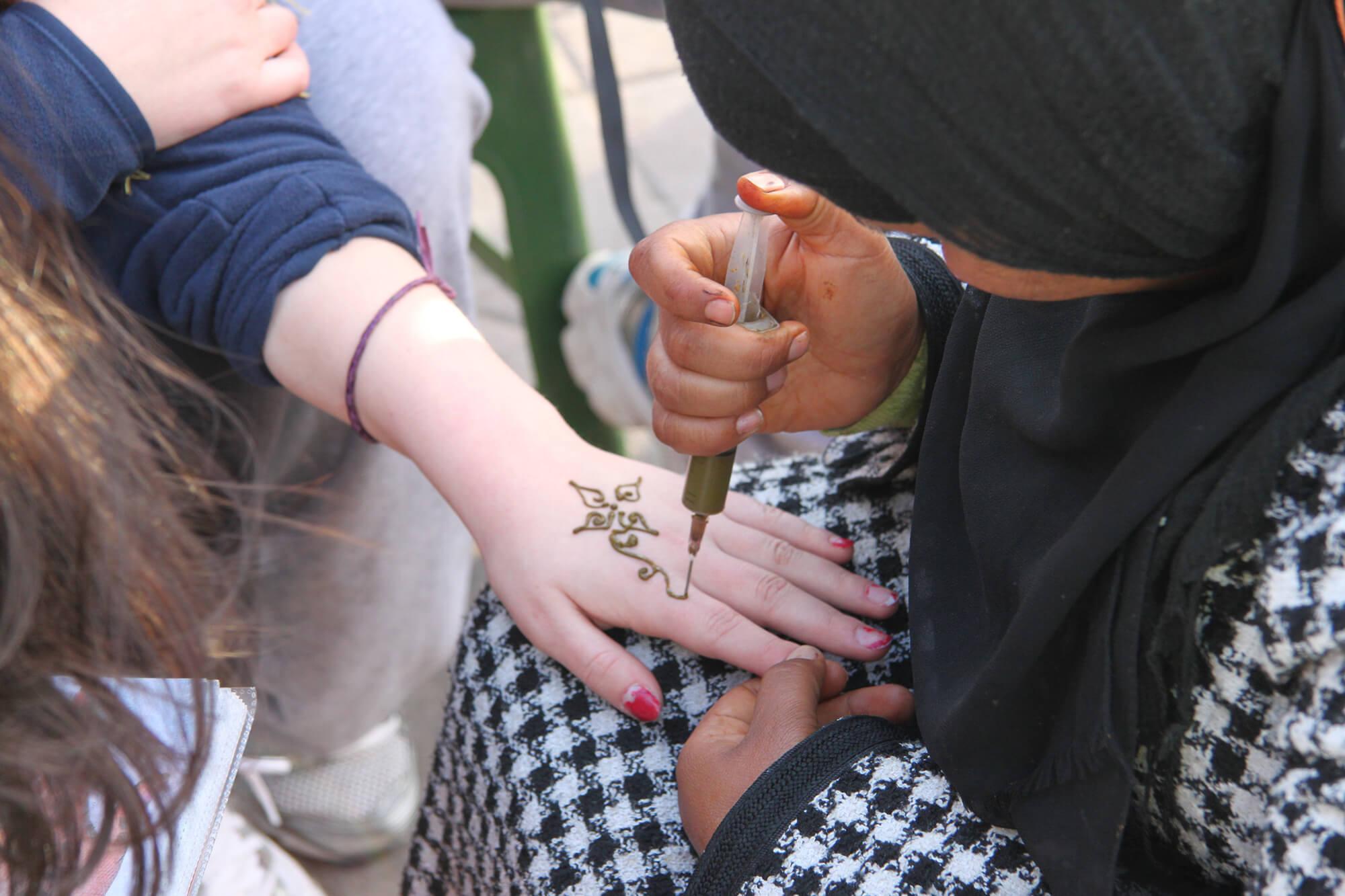Sahara Desert Tour - Kids Activities in and around Morocco - Experience Henna Art