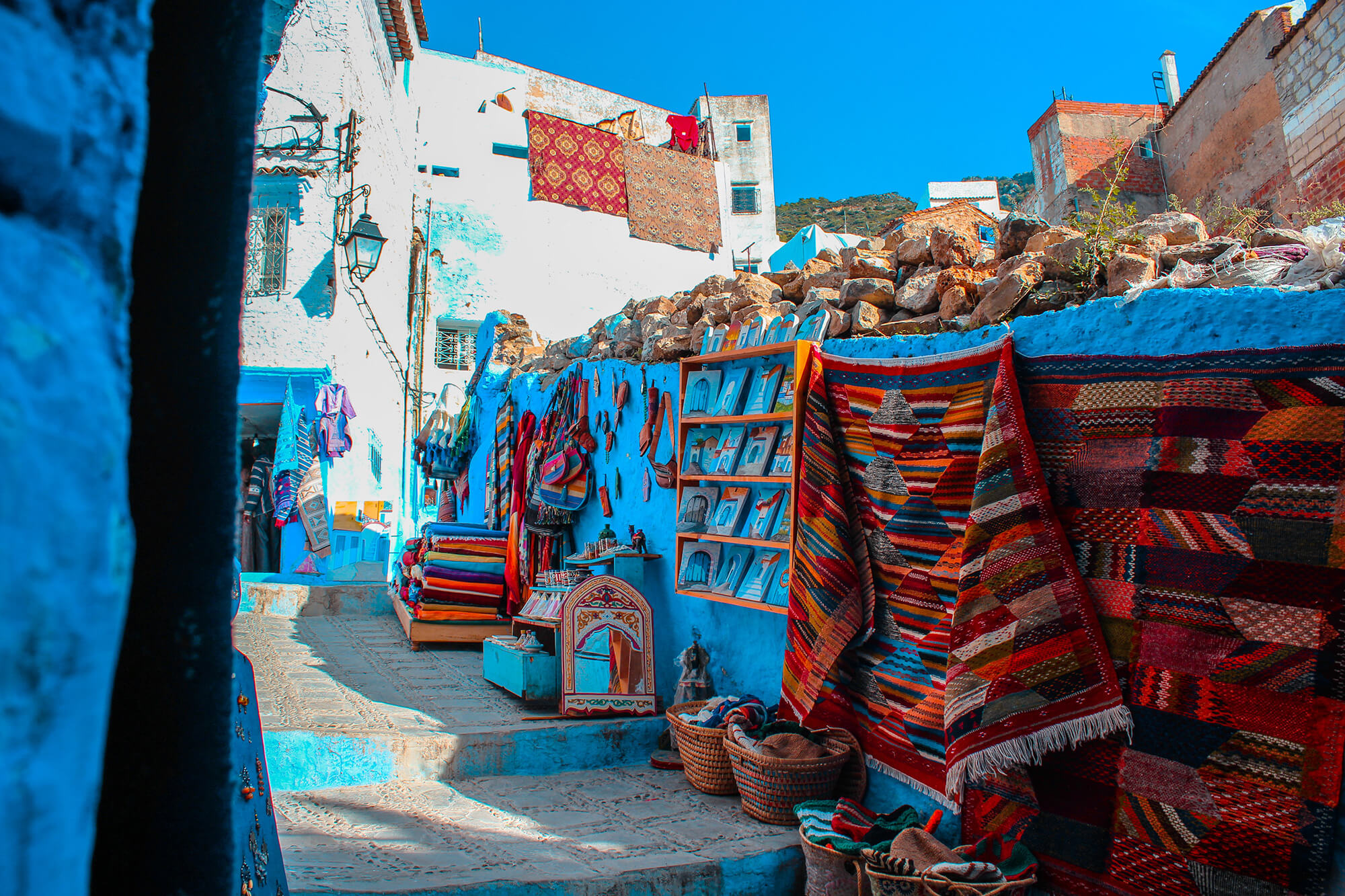 Sahara Desert Tour - Sightseeing in and around Chefchaouen - Variety of items to buy locally