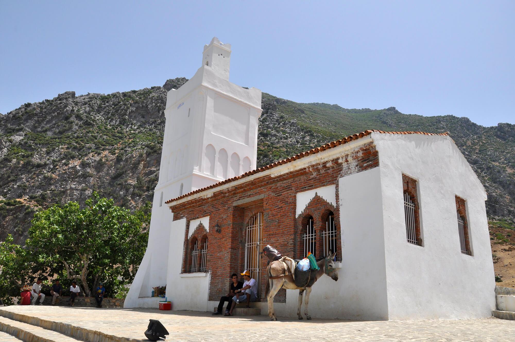 Sahara Desert Tour - Sightseeing in and around Chefchaouen - Visit Bouzaafar (Spanish Mosque)