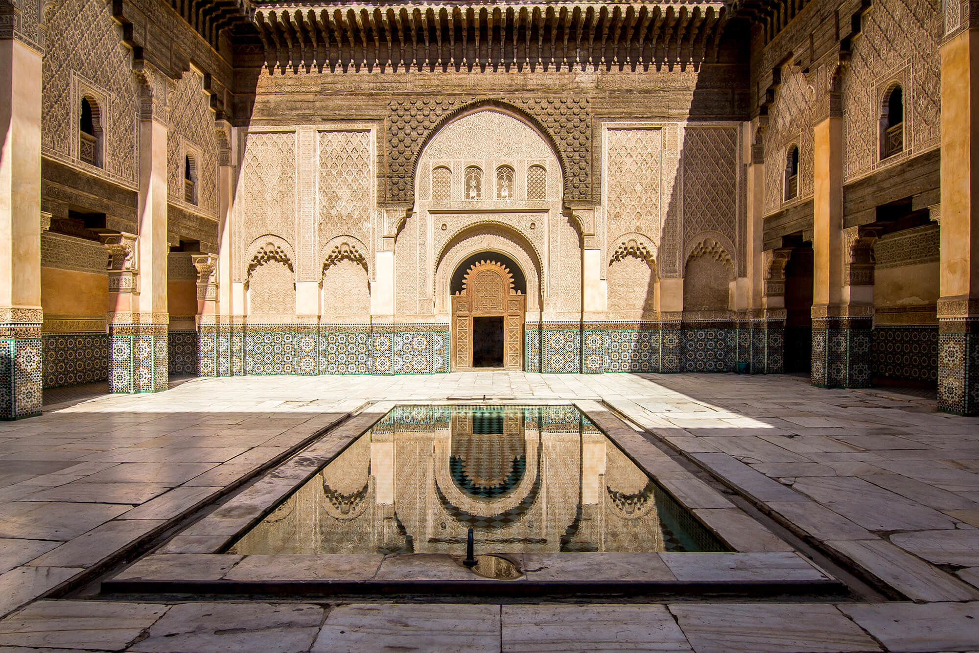 Sahara Desert Tour - Tap into the Magic of Marrakech where Old Meets New - Medersa Ben Youssef