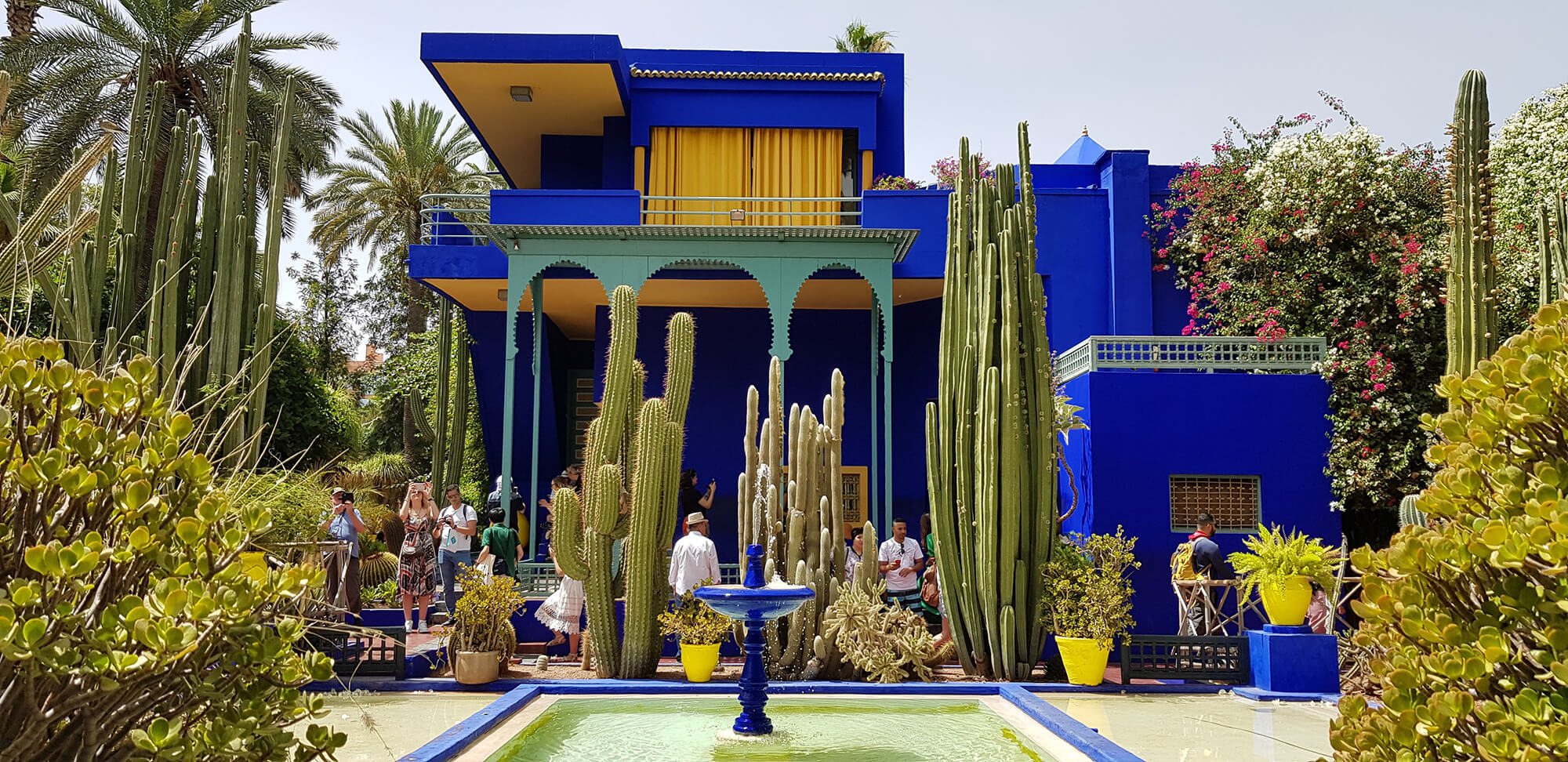 Sahara Desert Tour - Tap into the Magic of Marrakech where Old Meets New - Jardin Majorelle