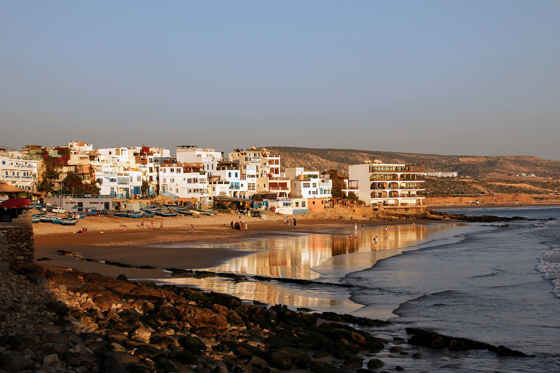 Best Beaches of Morocco - Between Mediterranean and Atlantic Ocean - Taghazout Beaches