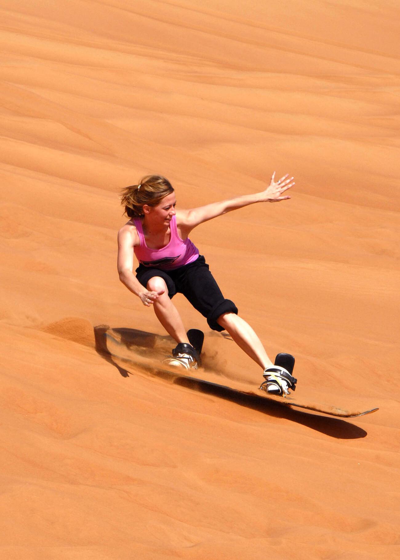Five Amazing Adventure Activities in Morocco - Sandboarding / Dune Surfing
