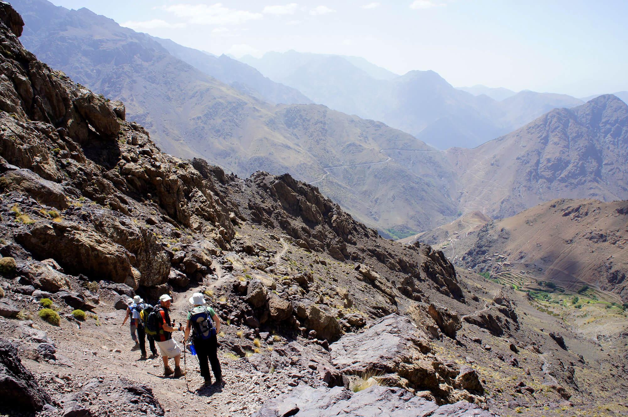 Five Amazing Adventure Activities in Morocco - Hiking and Trekking