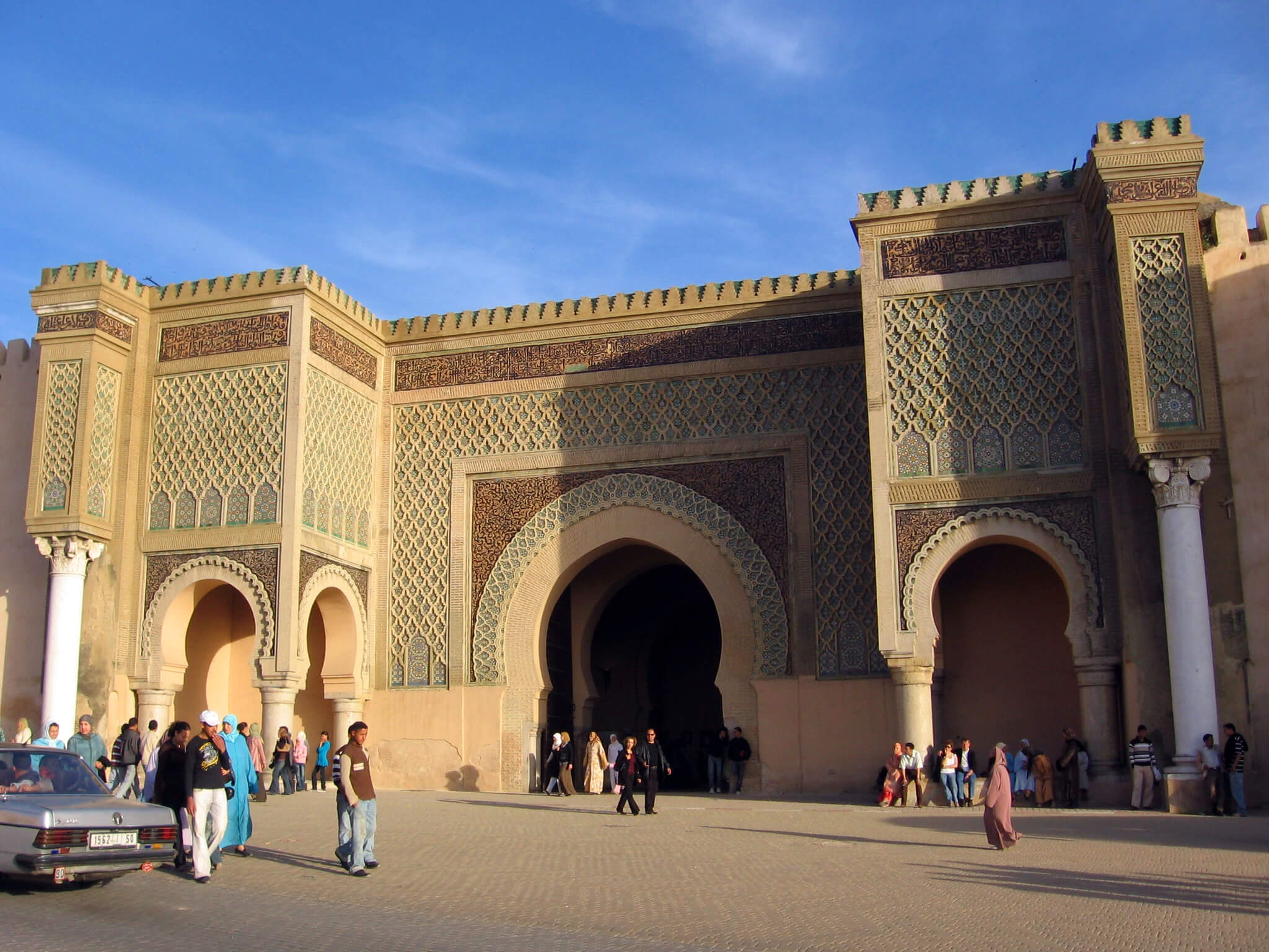Sahara Desert Tour - What to See and Do in Meknes, one of Morocco's Grandest Ancient Cities - Bab el Mansour