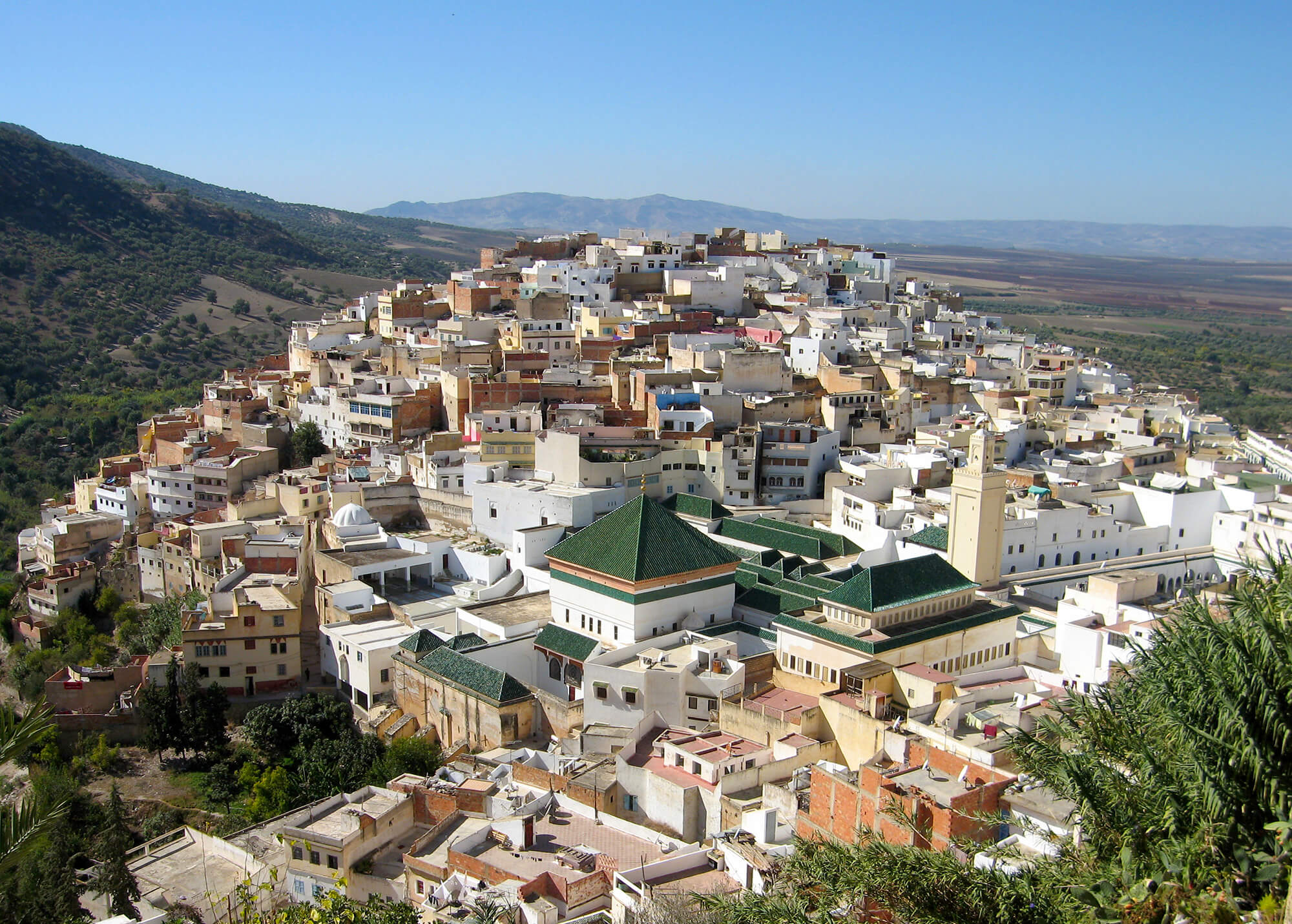 Sahara Desert Tour - What to See and Do in Meknes, one of Morocco's Grandest Ancient Cities - Moulay Idriss