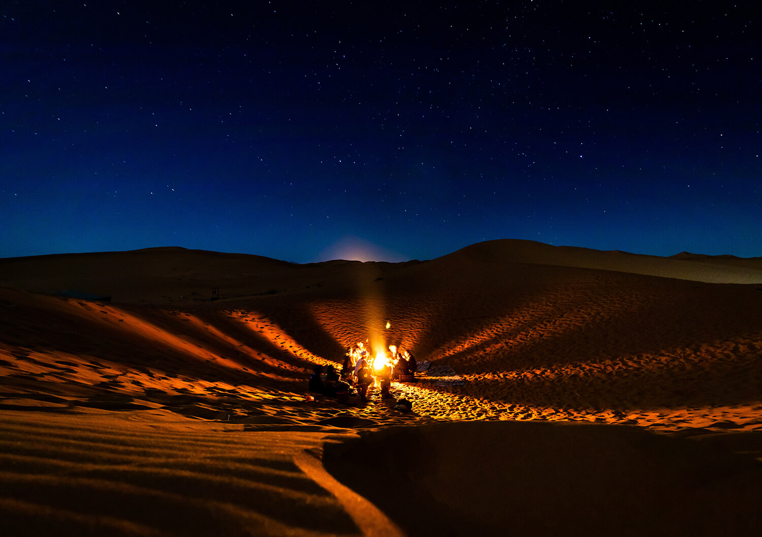 Sahara Desert Tour - A night in the desert